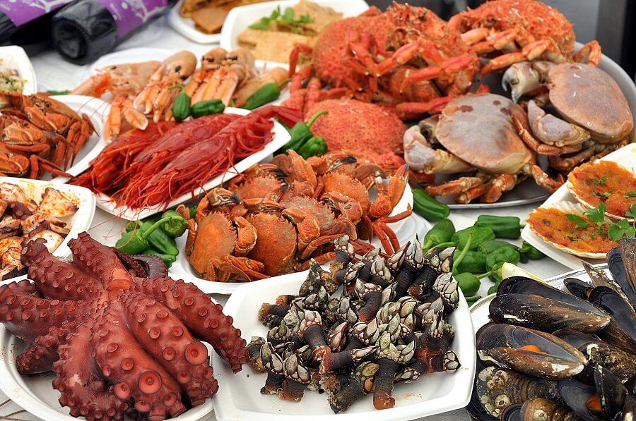 Propiedades nutricionales del marisco de nuestra tierra
